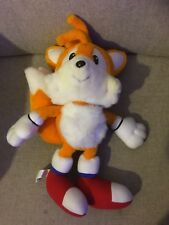 """Sonic The Hedgehog Tails The Fox Plush Soft Toy Vintage 1992 16"""" RARE"""