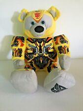 "Build A Bear Transformer Bumblebee 16"" Transforms to an Autobot Talks Poseable"