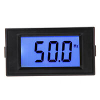 D69-30 LCD Digital Frequency Counter Panel Meter 10Hz-199.9Hz AC80-300V D