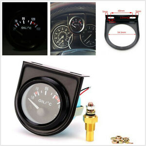 "Universal 2"" 52mm LED Auto Car Pointer Oil Temperature Meter Temp Gauge 50-150℃"