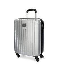 Pepe Jeans - Trolley de cabina color Stripes gris -40x55x20cm-
