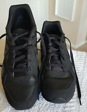A Genuine Pair Of Size 9 NIKE AIR MAX 90  Essential All Black Mens Trainers