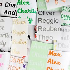 STICKERS NAMES  Personalised vinyl Custom Message lettering graphics decal Words
