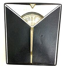 Vintage DETECTO Art Deco Mid Century Bathroom Scale, Made in USA, All Metal, B&W