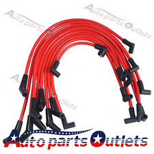 Red 10.5mm For Ford 5.0L 5.8L, SB SBF 302 JDMSPEED Racing Spark Plug Wires Set