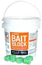 144pc Rodenticide Anticoagulant Bait Poison Blocks For Mice & Rats Peanut Butter