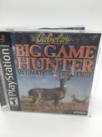 Cabela's Big Game Hunter: Ultimate Challenge For PlayStation  B9