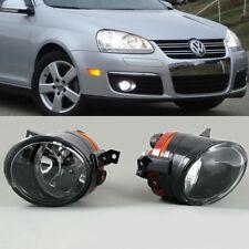 Front Bumper Pair Convex Lens Fog Light Lamp For VW Golf GTI Jetta MK5 Tiguan