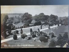 Derbyshire CHATSWORTH HOUSE The Gardens c1914 RP by R. Sneath No.531