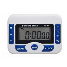 Lab timer 4 channel clock count down or up alarm, New