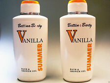 Bettina Barty Summer Vanilla Bath & Shower Gel Duschgel 2 x 500 ml (€ 14,40 / L)