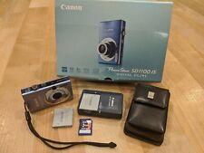 Canon PowerShot Digital ELPH SD1100 IS 8.0MP Digital Camera + 2GB SD Card + Case