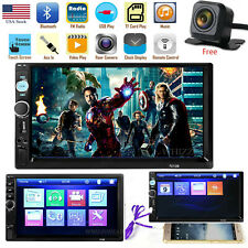 7 Inch 1080P DOUBLE 2DIN Car MP5 Player BT Tou+ch Screen Stereo Radio HD USA