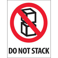New Listing3 X 4 Do Not Stack Labels 2000 Pcs