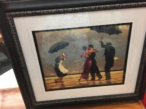 2 Framed 2-x23 Romantic Pictures - Unknown Artist So Pretty