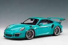 Porsche 911 991 Gt3 Rs Coupe 2016 Miami Blue AUTOART 1:18 AA78167