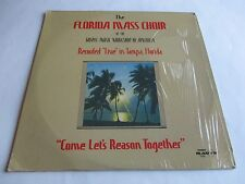 The Florida Mass Choir Come Let's Reason Together Vinyl Live In Tampa FL 2 LPs