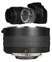 2X HD OPTICAL CONVERTER FOR CANON EF 75-300MM F/4-5.6 MAKES LENS IN TO 150-600MM