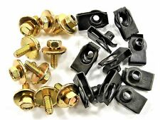 Body Bolts & U-Nuts for Nissan- M6-1.0mm x 16mm- 10mm Hex- Qty.10 ea.- #148