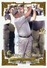 MARK O'MEARA 2001 Upper Deck SP Authentic Gold  Fairway Greats #D /500
