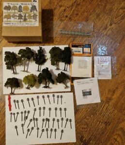 N Gauge Scenery - Trees Sheep Cats N Dogs Signs Telegraph Poles