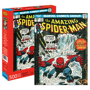 Marvel Amazing Spider-Man Cover Jigsaw Puzzle 500 pieces