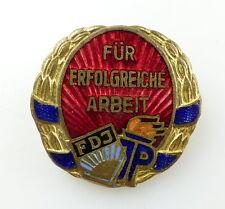 #e4820 Abzeichen für erfolgreiche Arbeit bei der FDJ JP DDR