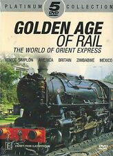 GOLDEN AGE OF RAIL, The World of Orient Express, Venice-Simplon, America, NEW