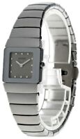 RADO Diastar Quartz Gray Dial Ceramic Women's Watch R13334122