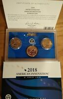 2018 American Innovation 3 Coin Set P-D-S One $1 Coins