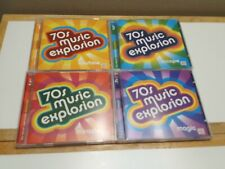 70s MUSIC EXPLOSION Vol 1-4 8 CDs 120 Songs Time Life Excellent Condition
