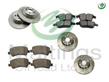 range rover evoque brake discs and pads set evoque brakes kit complete f+r