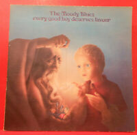 MOODY BLUES EVERY GOOD BOY DESERVES FAVOUR  LP 1971 GREAT CONDITION! VG++/VG+!!D