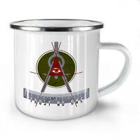 Trust No One NEW Enamel Tea Mug 10 oz | Wellcoda