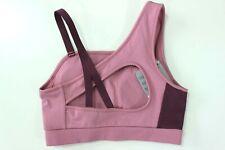 GYMSHARK BNWT Dusky Pink/Dark Ruby Women's Legacy Fitness Sports Bra Size XS