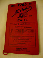 GUIDE MICHELIN ITALIA 1965