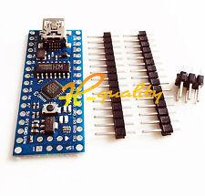 10PCS MINI USB Nano V3.0 ATmega168 16M 5V Micro-controller CH340G For Arduino
