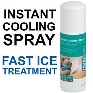 "1 X Instant Cold ""Magic"" Spray | 200ml Aero Cool Sports Injury ICE COOLING SPRAY"