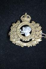 Pre Ww1 Canadian Rocky Mountain Rangers Collar Badge