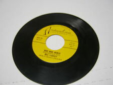 Bill Lindsey Who Untied The Knot/Mad Mad World 45 RPM