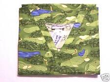 Golf Greens 3 Pocket Scrub Top - M 100% Cotton Multi-Color Sports Unisex MAS