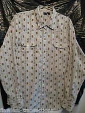 OP Men's Western Pearl Snap Cowboy Rodeo Square Dance Shirt Size Men's XL NEW