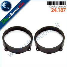 Supporti adattatori altoparlanti 165mm Lancia Ypsilon (2003-2011) Ant./Post.