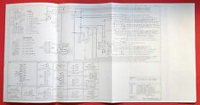 1977 Ford C Series Truck Electrical Systems Wiring Diagram's O.E.M.   5 Page's