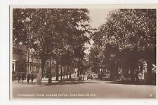 Cheltenham Spa, Promenade From Queens Hotel RP Postcard, A789