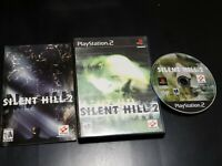Silent Hill 2 (Sony PlayStation 2, 2001) RARE! COMPLETE! TESTED! W/ REG. CARD!