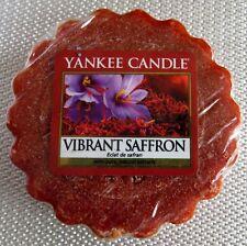 YANKEE CANDLE WAX TART VIBRANT SAFFRON