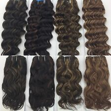 Brazilian Remy Quality 100% Human Remy Hair Extensions Weft UK Seller