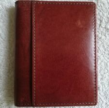Cardholder,Graffiti,Brown,Real Leather,Men's