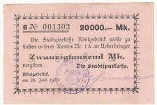 106 Königsbrück, 20T.Mark, 26.7.23 G